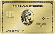Image of AMEX Gold card
